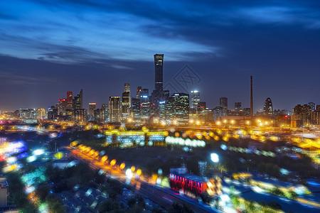 梦幻夜色北京国贸图片