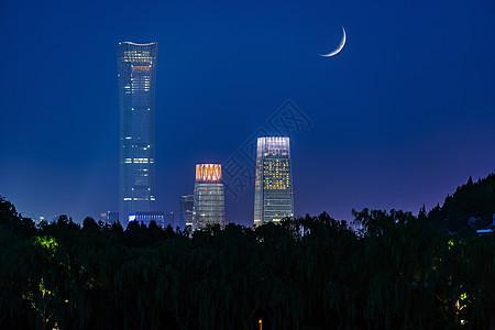 北京国贸的中国尊图片