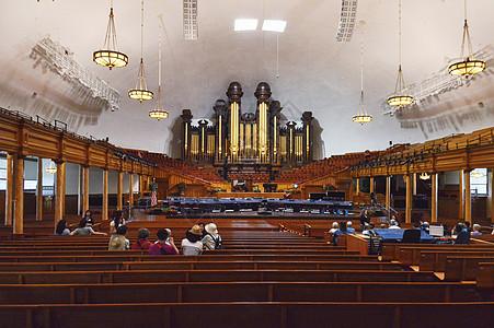 美国盐湖城摩门圣殿图片