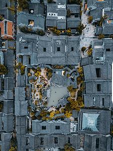 南京芥子园俯拍图片