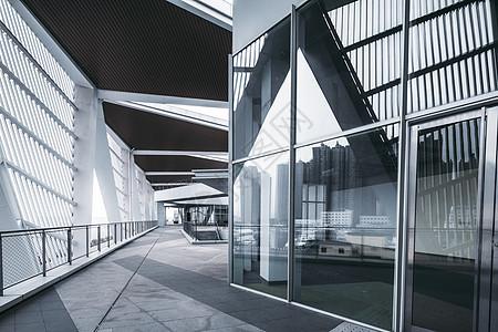 青岛国际客运港玻璃幕墙图片