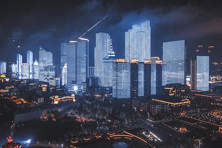 青岛城市夜景picture