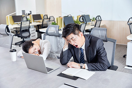 职场白领工作疲劳图片