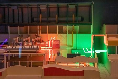 核电站模型图片