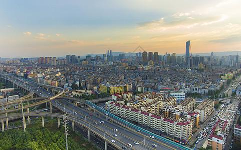 昆明城市高架环线桥梁图片