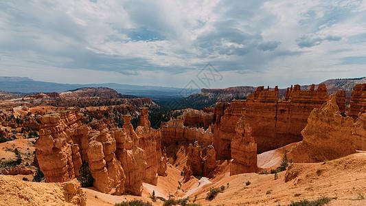 美国大峡谷石林景观图片