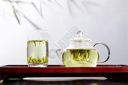 绿茶竹叶青图片