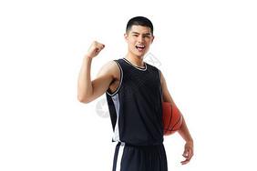 篮球运动员欢呼图片