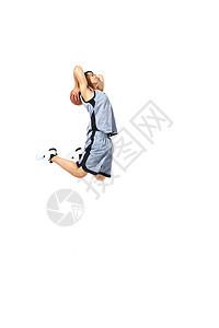 篮球运动员扣篮图片