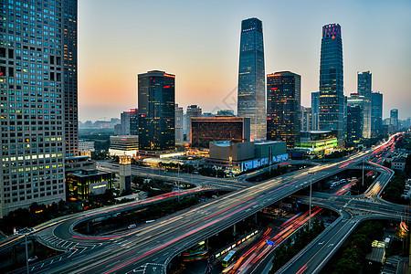 北京国贸立交桥图片