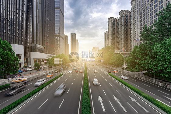 城市景观大道图片