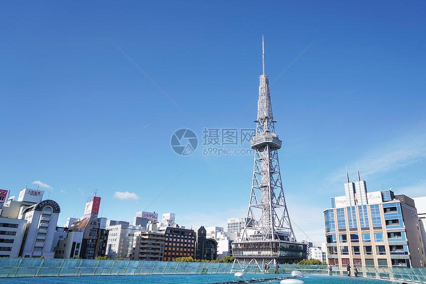 日本名古屋电视塔图片