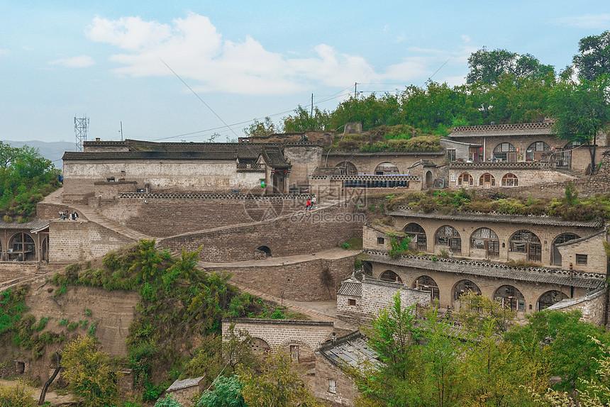 山西窑洞民居图片