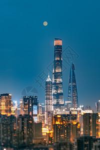 月色下的上海三件套图片