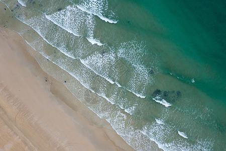 夏至涠洲岛航拍海湾图片