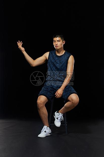 篮球运动员形象图片