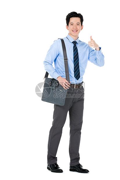 自信的商务男性图片