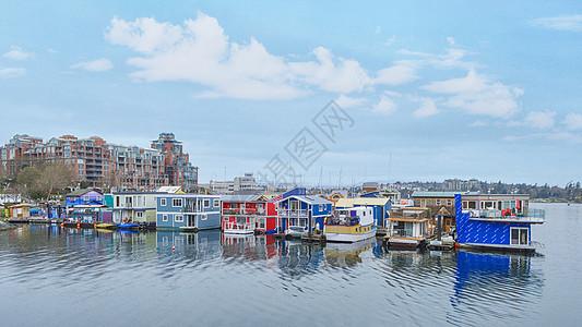 加拿大温哥华渔人码头图片