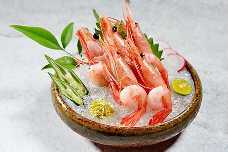 牡丹虾图片