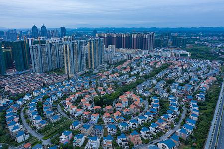 桂林新城区航拍图图片