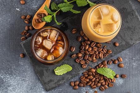 美式冰咖啡图片