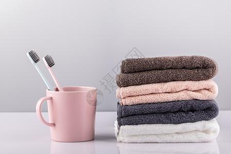 牙刷毛巾图片