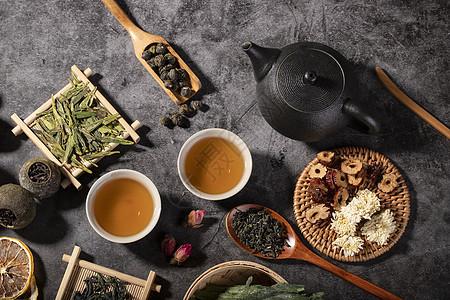 茶叶与茶具图片