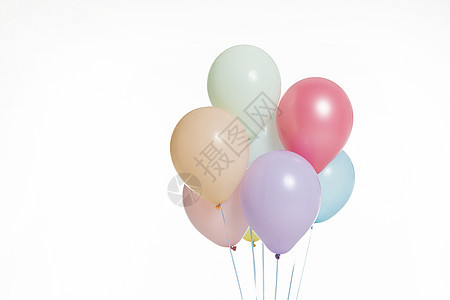 彩色气球图片
