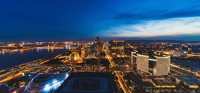 杭州城市风光图片