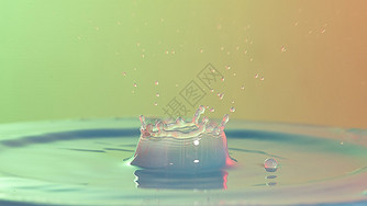 水滴色彩背景图片