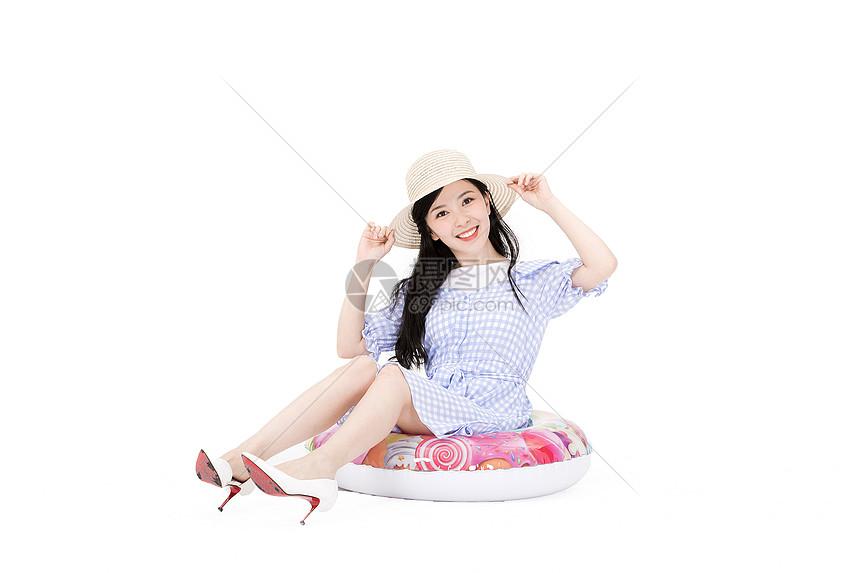 夏日美女图片