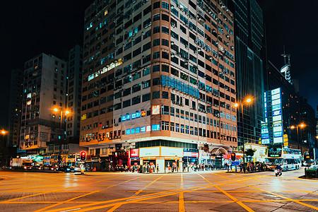香港弥敦道图片