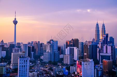 吉隆坡天际线图片