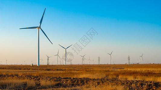 风车与太阳能应用 图片