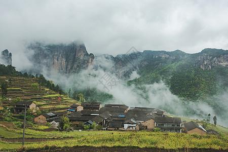 浙江仙居户外风景图片