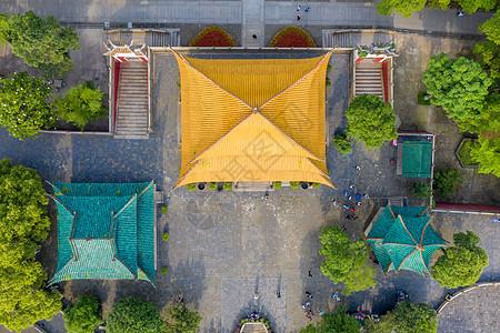 俯瞰湖南岳阳楼图片
