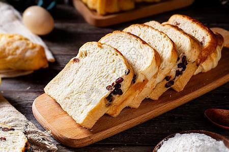 吐司面包图片