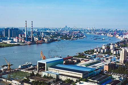 上海黄浦江码头图片