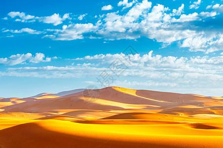 撒哈拉沙漠风光图片