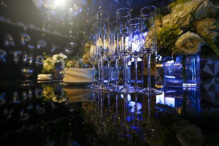 宴会香槟酒杯图片