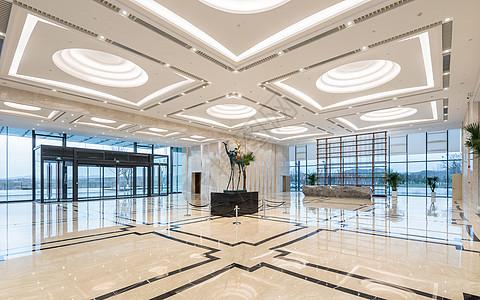 酒店大堂空间图片