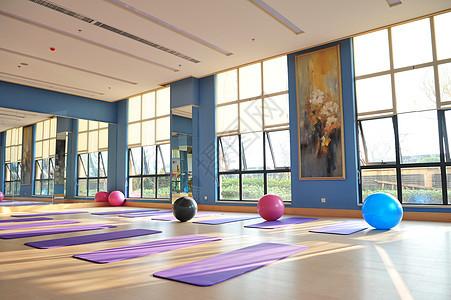 瑜伽室图片
