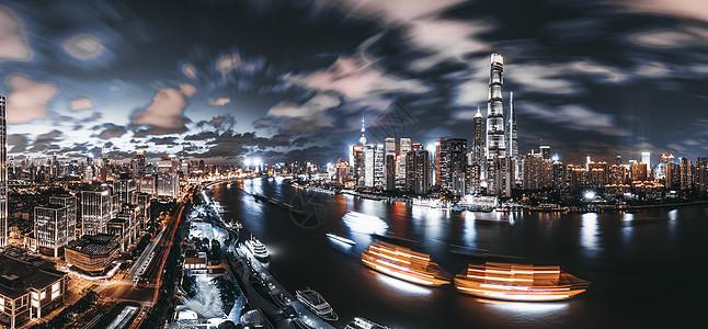 上海浦江全景图片