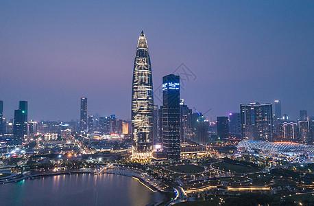 广东省深圳市南山区人才公园航拍图片