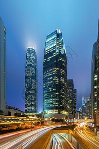 香港中环夜景图片