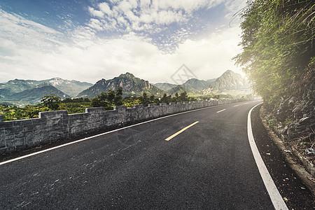 道路公路山路图片