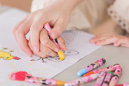 儿童一对一兴趣培训特写图片