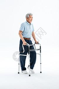 老年人健步康复图片
