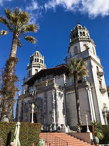 美国加州赫斯特城堡图片