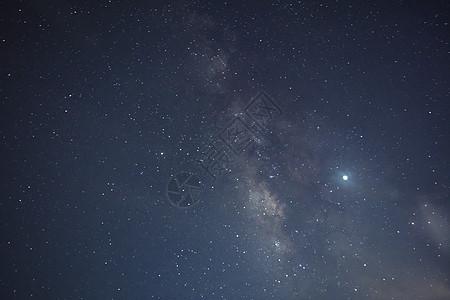 夏季银河背景图片